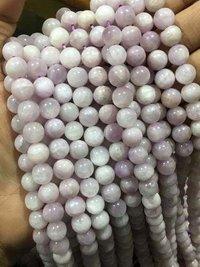 Kunzite round 8mm beads,kunzite 15 inches 8mm beads