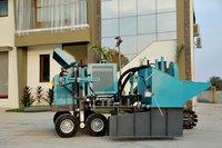Concrete Kerb Laying Machine