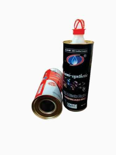 Engine oil Tin container