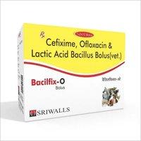 BACILFIX-O CEFIXIME OFLOXACIN LACTIC ACID BACILLUS BOLUS