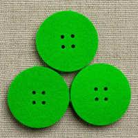 Round Felt Button