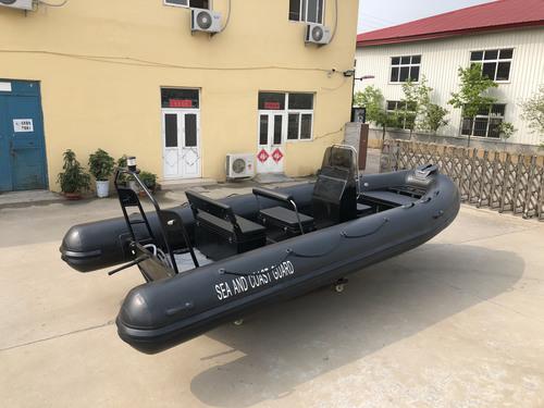 Liya Rib 580  Aluminum Hull Inflatable Rib Boat Fishing Boats For Sale
