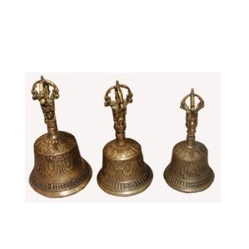 Nepalese & Tibetan Bajra Ghanti Singing Bells From India/Bells & Dorje from India
