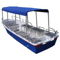 Liya 5.8m fiberglass passenger boat for fishing