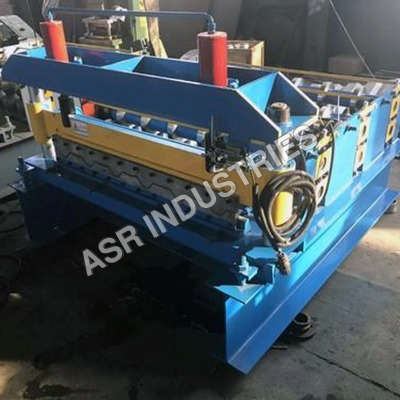 Roof Sheet Crimping Machine