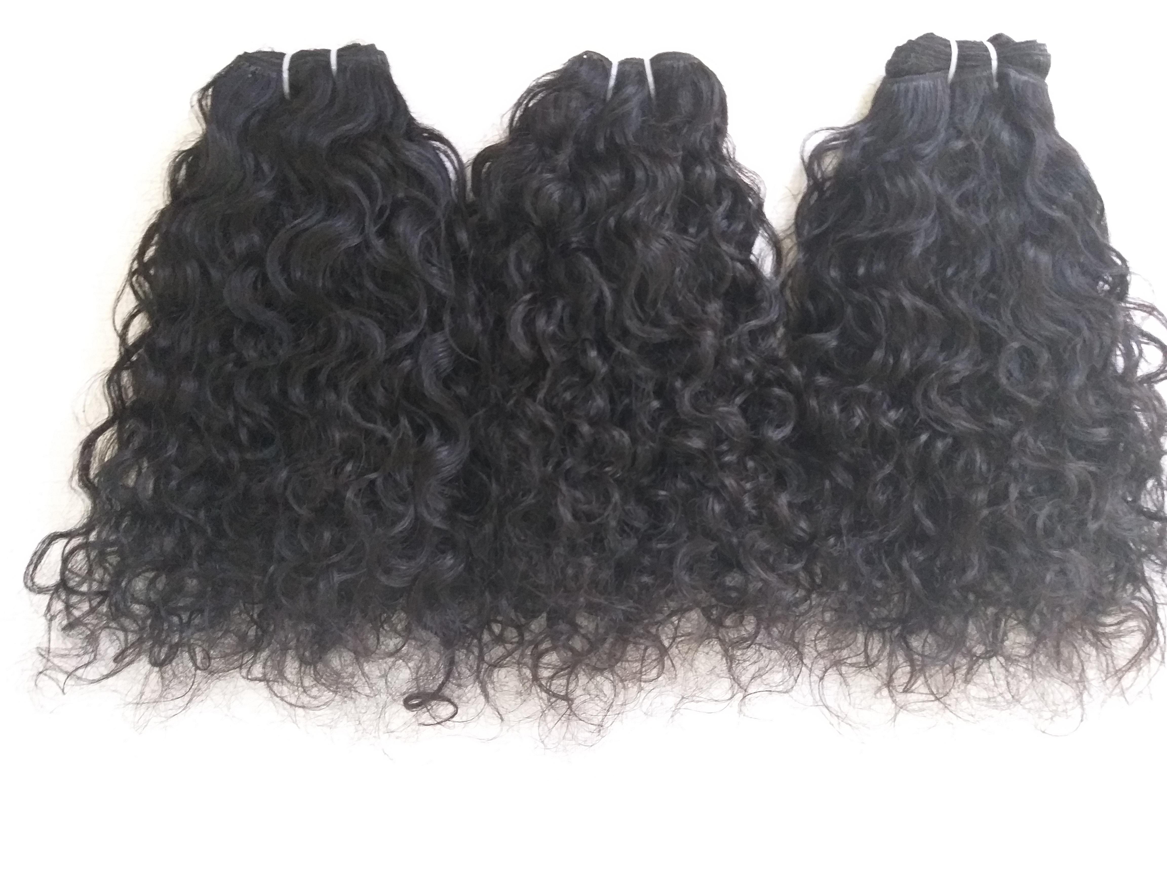 Peruvian Deep Curly Human hair