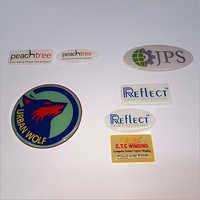 Dome printed Sticker