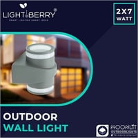 LED Outdoor Up And Down Lamp