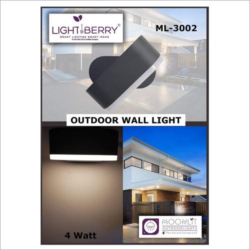 4 Watt Light Berry Outdoor Wall Light