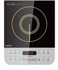 Philips Viva Collection HD4928/01 2100-Watt Induction Cooktop (Black)