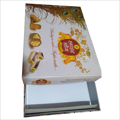 Craft Paper Board Sweet Packaging Box