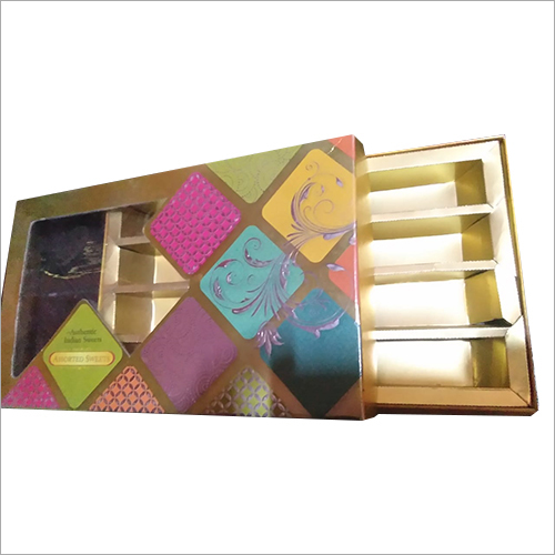 4 Compartment Sweet Packaging Box