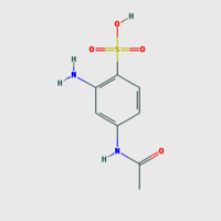 Meta Amino Acetanilide 4 Sulphonic Acid
