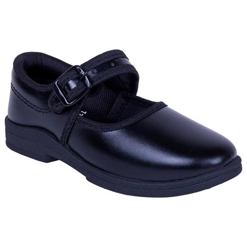 Leather Girl School Shoes