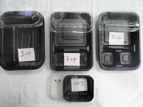 Black Food Container