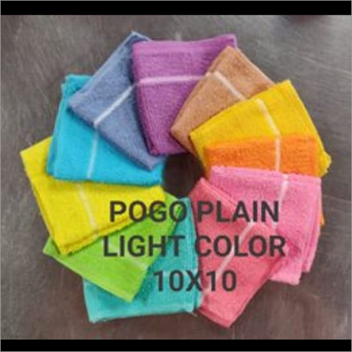 Pogo Plain Light Color Towel