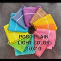 Pogo Plain Light Color Towel