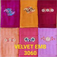 3060 Velvet Emb Towel
