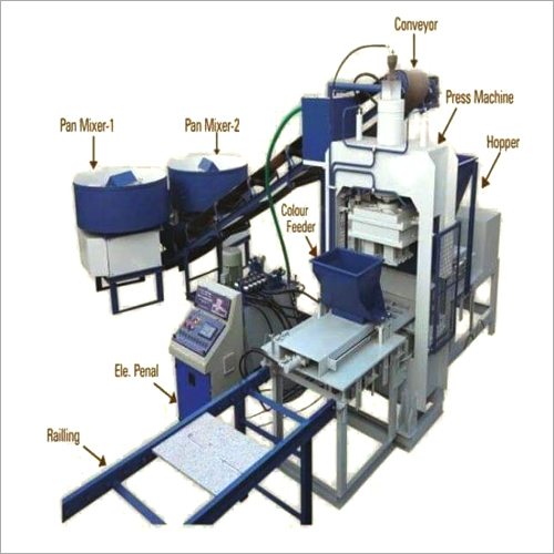 Fully Automatic Fly Ash Brick And Block Plant