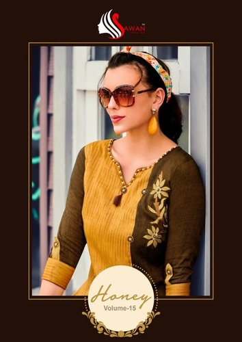 Rayon Long Kurti EMBROIDERY