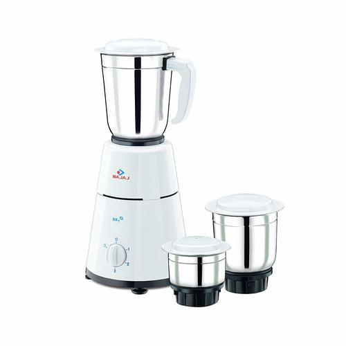 Bajaj GX-1 500-Watt Mixer Grinder with 3 Jar