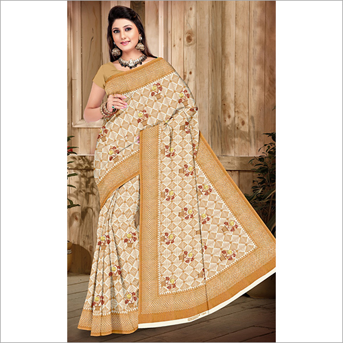 Cotton Simple Saree