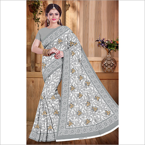 Ladies Printed Partywear Saree