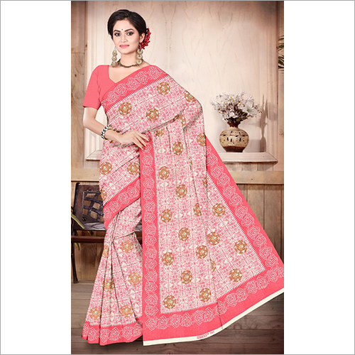 Ladies Border Saree