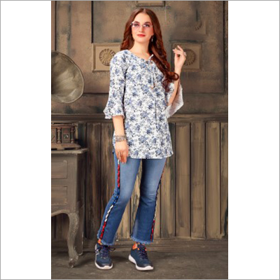 Ladies Fancy Short Kurti