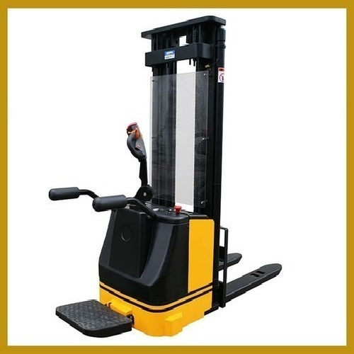 Electric Powered Stacker Stand On 1.5 Ton
