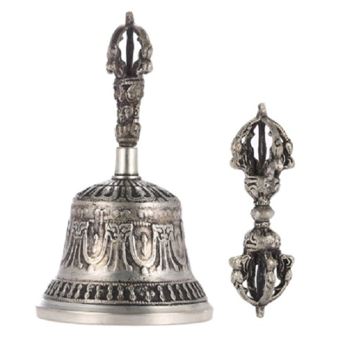 Singing Bell Handcrafted Tibetan Buddhist Temple Singing Bell