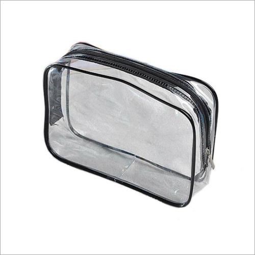 Transpaprent PVC Zipper Bag