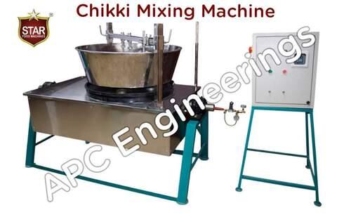 Semi Automatic Moonfali Chikki Making Machine