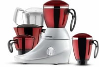 Butterfly Desire Mixer Grinder with 4 Jars (Red and White)