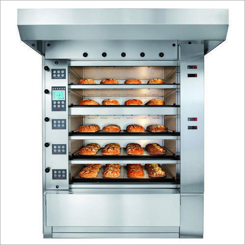 Stainless Steel Rotary Bakery Oven