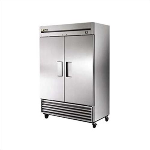 Stainless Steel Double Door Refrigerator