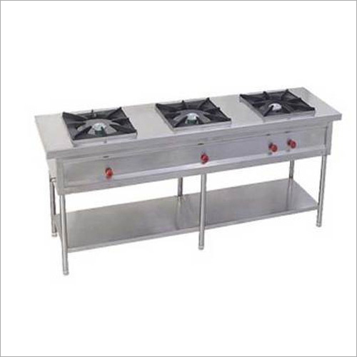 3 Burner Commercial Gas Stove