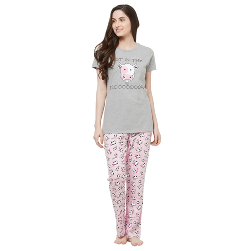 Evolove Womens Pajama T-Shirt Sets (EVO1)