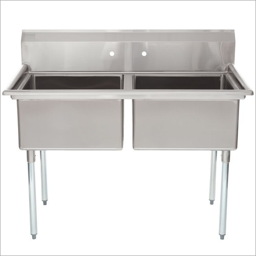 SS Two Compartment Sink
