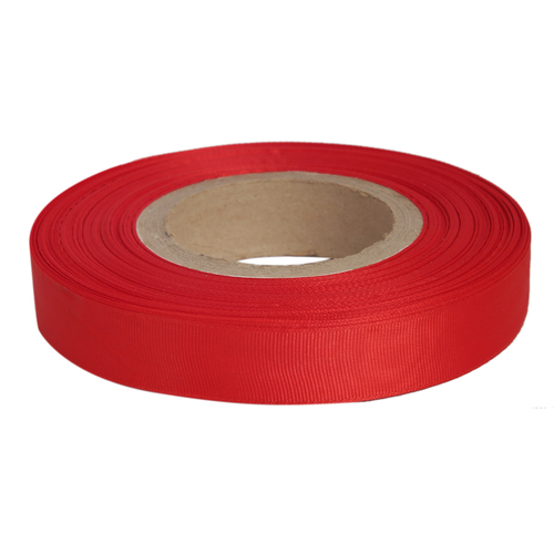 Gross Grain Satin - Red