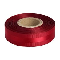 Gross Grain Satin - Bright Red