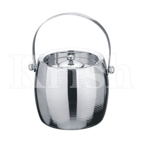 DW Concave Ice Bucket with Rings