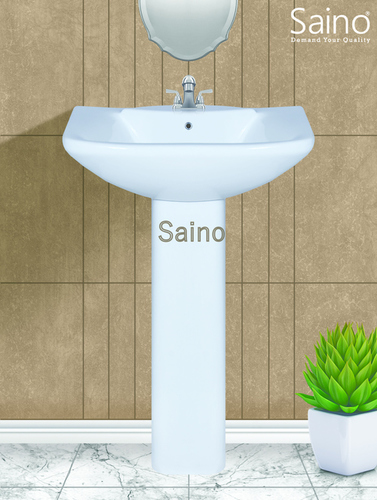 Saino Square Pedestal Basin