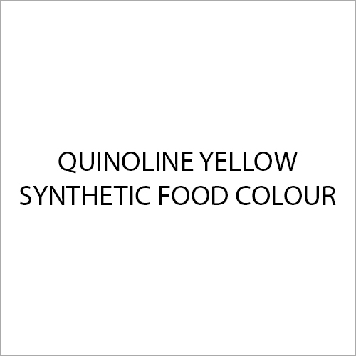Quinoline Yellow Synthetic Food Colour