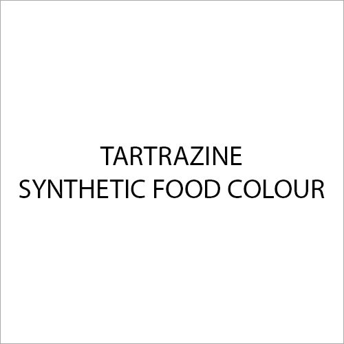 Tartrazine Synthetic Food Colour