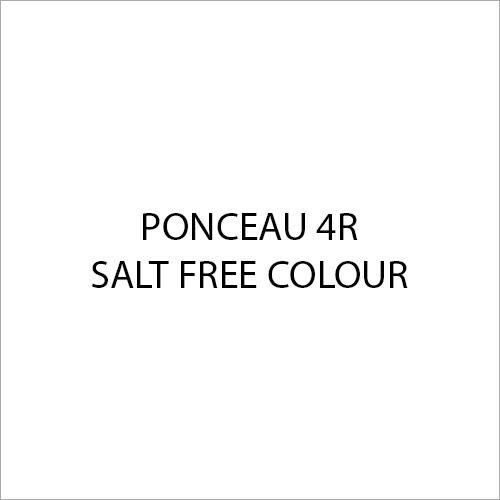 Ponceau 4R Salt Free Colour