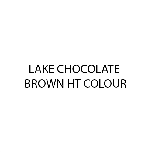 Lake Chocolate Brown HT Colour