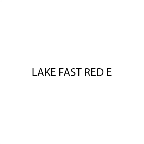 Lake Fast Red E Colour