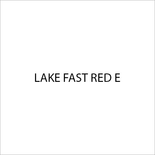 Lake Fast Red E Colour