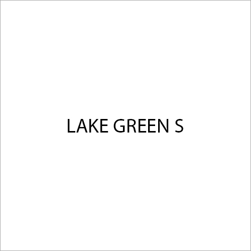 Lake Green S Colour